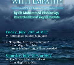 Rising Together with Empathy on July 20th