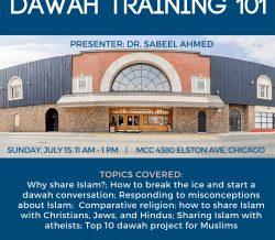 MCC Workshop: Dawah Training 101