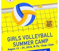 Girls Volleyball Summer Camp   – MCC Academy