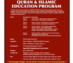 After School Kids Quran & Islamic Education Program