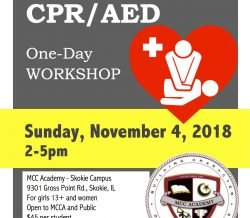 MCC Academy: CPR/AED One Day Workshop