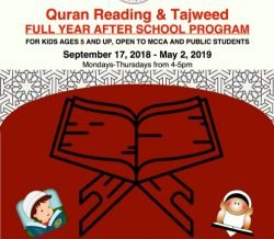 Quran Reading & Tajweed Full Year After School Program