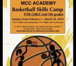 Basketball Skills Camp for Girls 2nd-5th grades