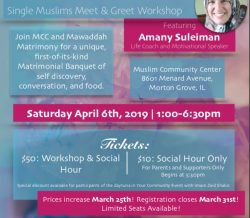 Single Muslims Meet & Greet Workshop