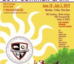 MCCA Summer Camp 2019