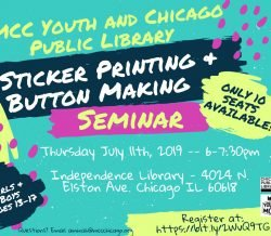 MCC Youth: CPL YOUmedia seminar in collaboration with Chicago Public Library