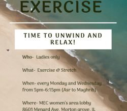 MEC Women Committee Present – Exercise