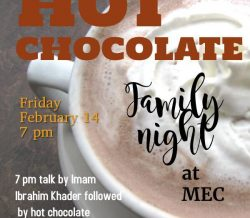 MCC Youth Council Presents: Hot Chocolate Family Nights at MEC – Friday Feb 14