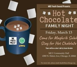 Hot Chocolate Family Night At MCC Elston Community Hall